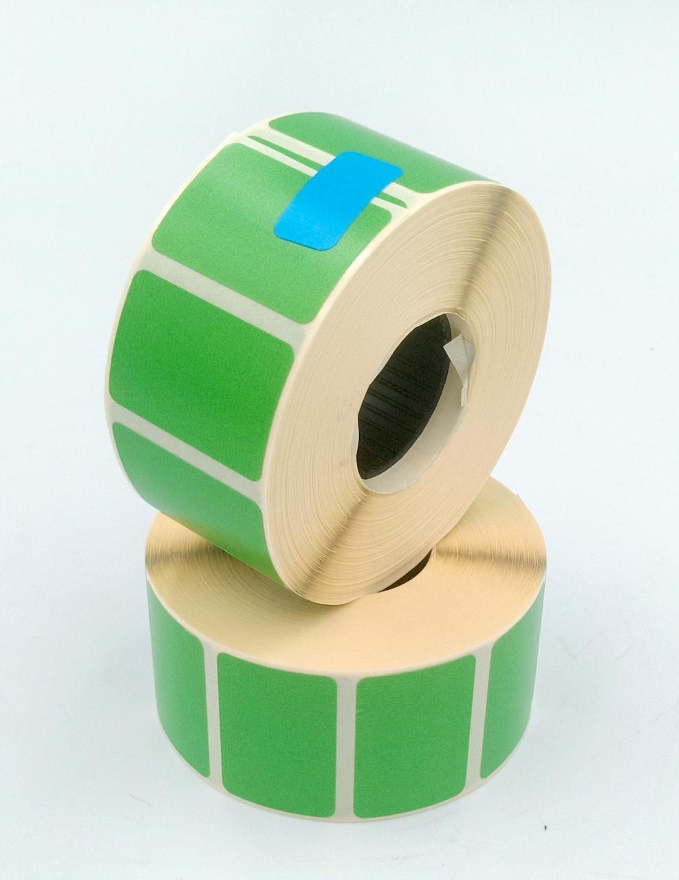 Mobitehnika Термоетикетка для етикеточних принтерів Т.еко пантон зелена 30*20 1000шт вт. 25мм