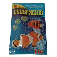 Корм для риб Суперменю 10 гр Київ