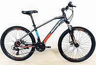 "Велосипед гірський Gemini Azimut FRD колеса 24"", сталева рама 15,5"", фото 1"