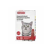 Бефар 35 см нашийник від бліх, кліщів для кішок червоний Веарһаг 13251