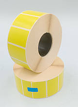 Mobitehnika Термоэтикетка для весов, этикеточных принтеров Т.Еко пантон жёлтая 40*25 2000шт вт. 40мм