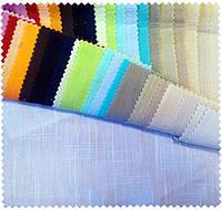 Ткань  Лён Фламли белый и бежевый (другие цвета под заказ), фото 1