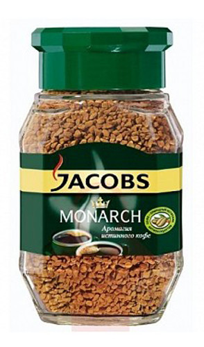 Кофе растворимый Jacobs Monarch 190 г. с/б