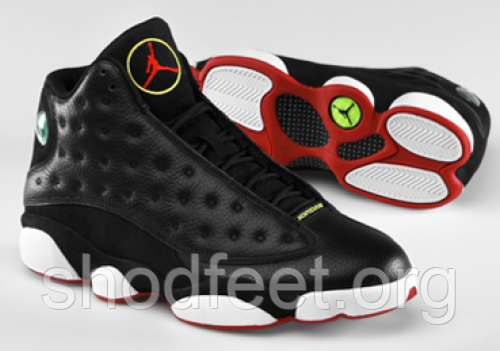 Кроссовки Air Jordan 13 Retro Playoffs Black/Red/White