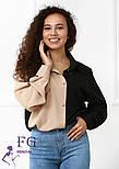 "Женская двухцветная блуза ""Nikita""  Норма, фото 9"