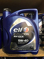 Масло моторное синтетика ELF(эльф) Evolution SXR 5w40 5л