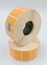 Mobitehnika Термоэтикетка для весов, этикеточных принтеров Т.Еко пантон оранжевая 40*25 2000шт вт. 40мм
