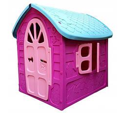Детский домик игровой фиолетовый Mochtoys Принцесса
