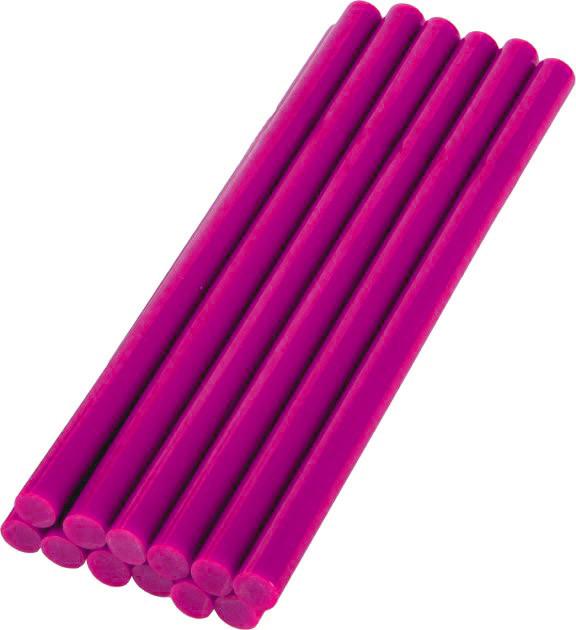 Силіконові стрижні для клейових пістолетів 7мм / рожевий
