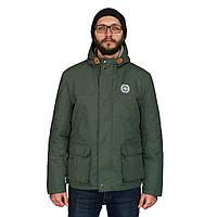 Чоловіча осіння куртка White Sand Night Screen Jacket темно-зелена. До -5 °С., фото 1