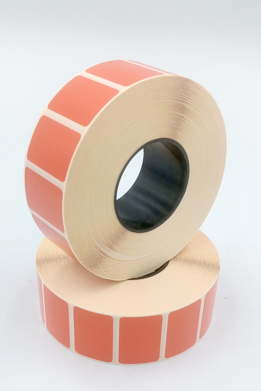 Mobitehnika Термоэтикетка для этикеточных принтеров Т.Еко пантон красная 30*20 2000шт вт.40