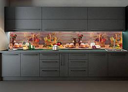 Наклейки кухонный фартук Zatarga Осенний урожай 600х2500 мм Разные цвета Z180188, КОД: 1836401