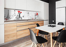 Наклейки кухонный фартук ZatargaДомашний уют 600х2500 мм Серый Z180098 1, КОД: 1836425