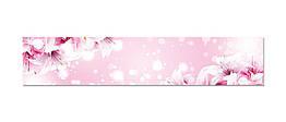 Наклейка виниловая кухонный фартук  Zatarga  Нежные Лилии  600х3000 мм Z181303 2, КОД: 2385400