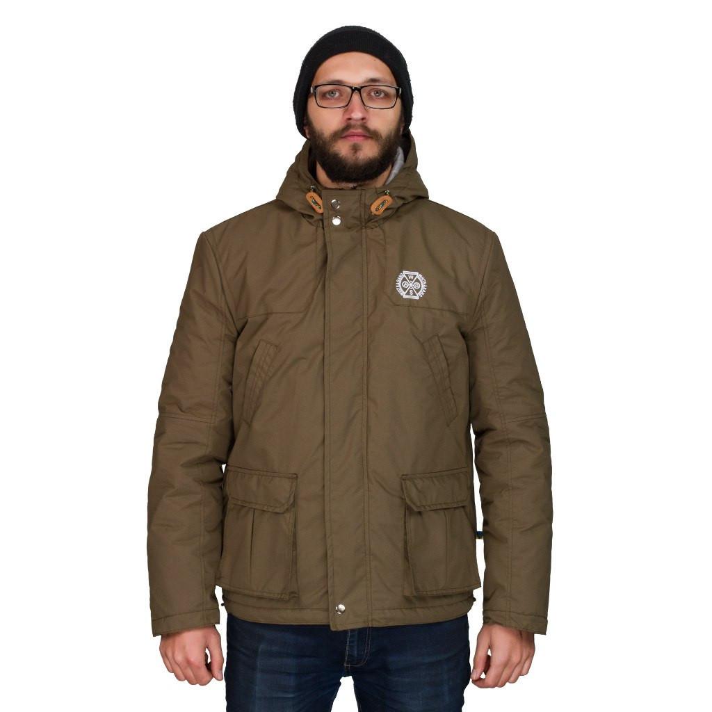 Чоловіча осіння куртка White Sand Night Screen Jacket оливкова. До -5 °С. 00bcd220eb874