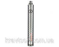 Аккумулятор с изменяемым напряжением EVOD TWIST III ( 3 ) 1650мАч VV ( Варивольт ) EC-016 Silver