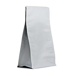 Пакет с плоским дном 145*340 дно (45+45) белый, без zip-замка