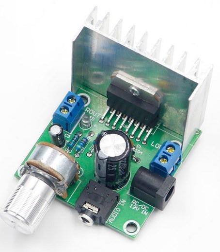 Стерео підсилювач 2Х15Вт на мікросхемі ТDA 7297
