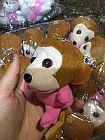 Мягкая игрушка обезьяна оптом для изготовления букетов