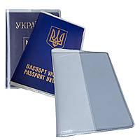 Обкладинка для паспорта з ПВХ прозора