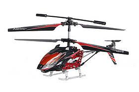 Вертоліт на пульті 3-к р/к мікро WL Toys S929 з автопілотом (червоний)