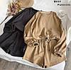 Женский стильный костюм: шорты и худи