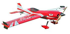 Літак радіокерований Precision Aerobatics XR-61 1550мм KIT (червоний)