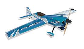 Літак радіокерований Precision Aerobatics XR-52 1321мм KIT (синій)