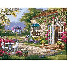 """Картина за номерами """"Заміський дім"""""""