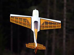 Літак радіокерований Precision Aerobatics Katana Mini 1020мм KIT (жовтий)