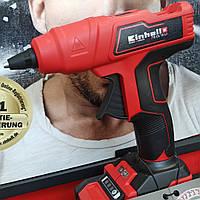 Пістолет клейовий акумуляторний Einhell TE-CG 18 Li + Акумулятор 2.5 А/год + Зарядний пристрій