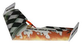 Літаюче крило TechOne Mini Popwing 600мм EPP ARF (чорний)