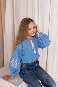 """Блуза вышивка детская  """"Звезда"""""""