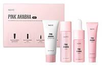 Набор миниатюр косметики с кислотами и экстрактом арбуза Nacific Pink AHA BHA Kit 30 мл, 30 мл, 10 мл, 20 мл, фото 1