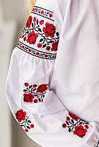 """Детская вышиванка с украиской вышивкой  """"Розочки"""", фото 3"""
