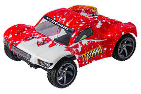 Радіокерована модель ралійного шорт-Корса 1:18 Himoto Tyronno E18SC Brushed (червоний)