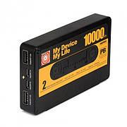 Павер банк Power Bank Remax Tape 10000 mAh Black