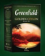 """Чай """"Гринфилд"""" 100г Черный Golden Ceylon (1/14) 669, фото 1"""