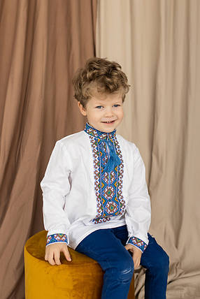 """Вышиванки с орнаментом  для мальчишек """"Антон"""", фото 2"""