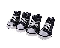 Водонепроницаемые кеды для животных, обувь для животных, джинс (4 шт), XS (4.3 см*3.2 см)