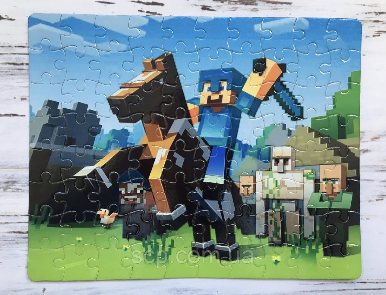 Пазл Minecraft (Майнкрафт)