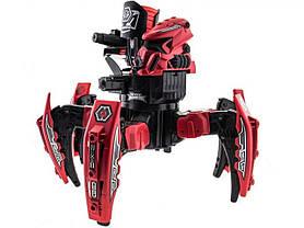 Робот-павук радіокерований Keye Space Warrior з ракетами і лазером (червоний)