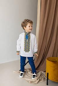 """Вышитая рубашка крестиком для мальчишек """"Антон"""""""