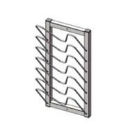Сушка для досок и крышек настенная 300х200х600 мм техно 1