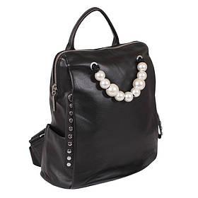 Рюкзак шкіряний de esse Чорний