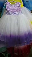 Детское праздничное платье (нарядное, новогоднее)  5-6лет