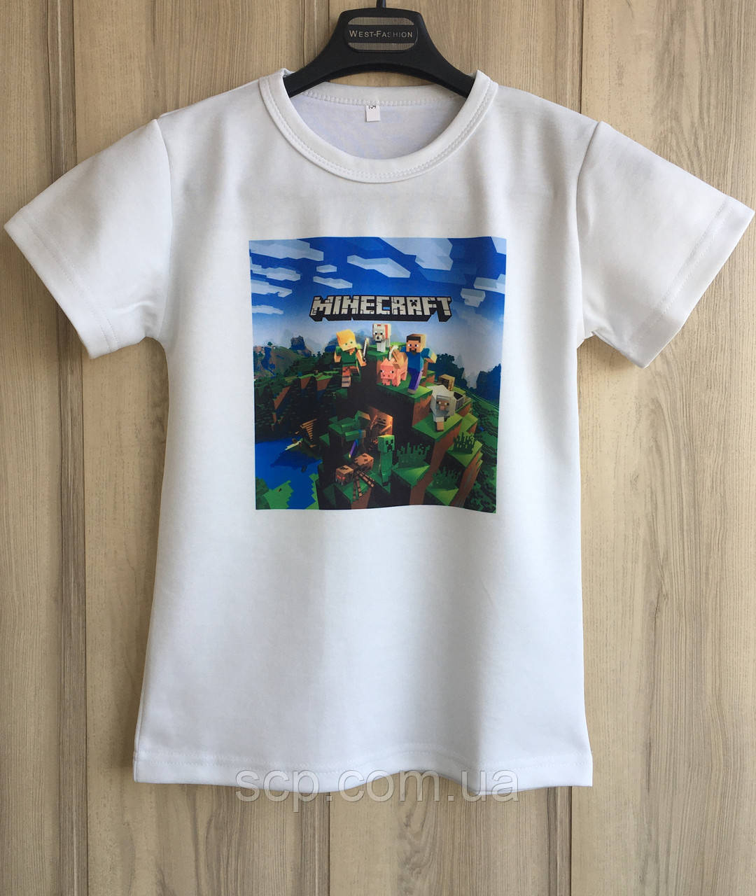 Футболка Minecraft (Майнкрафт)
