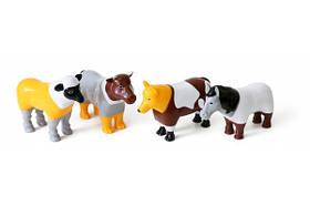 Конструктор для маленьких POPULAR Playthings Mix or Match Farm Animals фермерські тварини