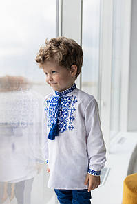 """Рубашка с вышивкой для мальчика """"Звезда"""""""