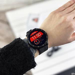 Розумні смарт годинник Smart watch Modfit MT16 Black-Green .Сенсорні наручний годинник .Чоловічі смарт